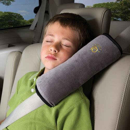 Diono 60025 Seat Belt Pillow - Grey front-1066727