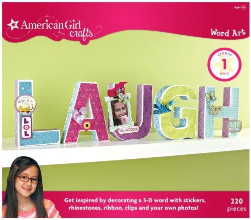 American Girl Crafts Laugh Letter Art Kit front-771483