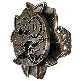 Steampunk Antique Watch Gears Ring