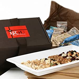 All Natural Fruit and Nut Gift Box by ig4U