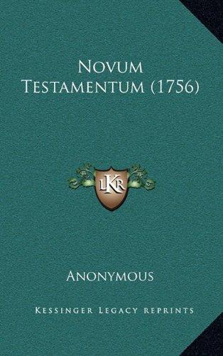 Novum Testamentum (1756)