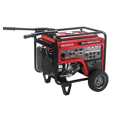 Honda EM6500S Generator w/ Electric Start (Electric Start Generator Honda compare prices)