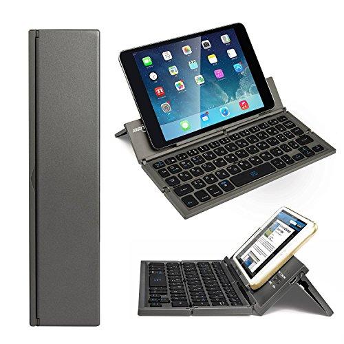 これは面白い!折りたたみできるBluetoothキーボードがAmazonタイムセールで2,460円
