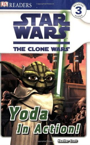 Star Wars: The Clone Wars Yoda in Action! (DK Reader - Level 3 (Quality))