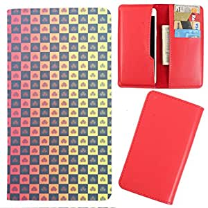 DooDa - For Karbonn Opium N7 PU Leather Designer Fashionable Fancy Case Cover Pouch With Card & Cash Slots & Smooth Inner Velvet
