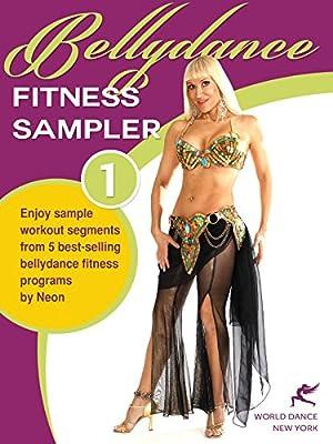 Bellydance Fitness Sampler 1 - sample segments from 5 bellydance fitness programs (Neon's format) [HD]