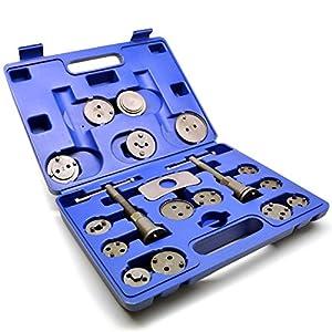 18pc Left & Right Hand Brake Calliper / Calliper Wind Back Tool Piston Kit TE420