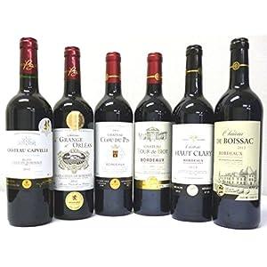金賞受賞酒 赤ワイン 6本セット フランスボルドーワイン