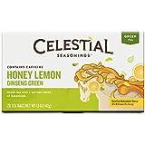 Celestial Seasonings Honey Lemon Ginseng Green Tea, 20 Count (Pack of 6)