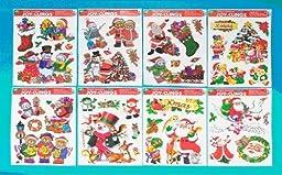 Eros Hosiery AM12-007072 Christmas Window Clings- 12 x 17- case of 96