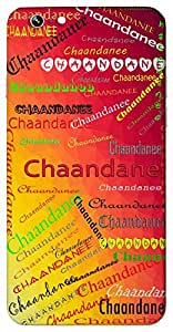 Chaandanee (Moonlight) Name & Sign Printed All over customize & Personalized!! Protective back cover for your Smart Phone : Samsung Galaxy Note-3