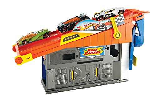 Hot Wheels Rooftop Race Garage Exclusive Playset (Hot Wheels Garage Cars compare prices)