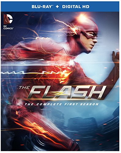 Blu-ray : The Flash: The Complete First Season (DC) (Ultraviolet Digital Copy, Boxed Set, Slipsleeve Packaging, , 4 Disc)