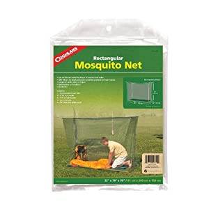Coghlan's Single Mosquito Net Green