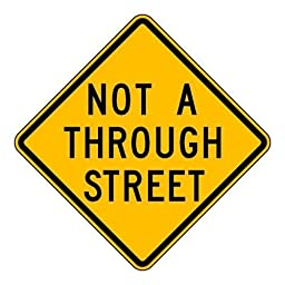 Brady 115536 Traffic Sign, Text, 24\
