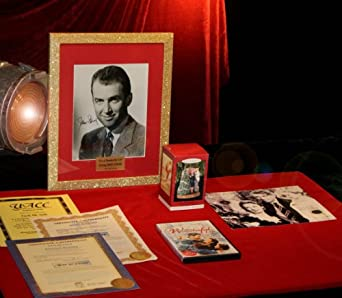 Jimmy Stewart Zuzu Signed It 39 S A Wonderful Life Coa Dvd Costume Pieces Ornament Uacc Frame