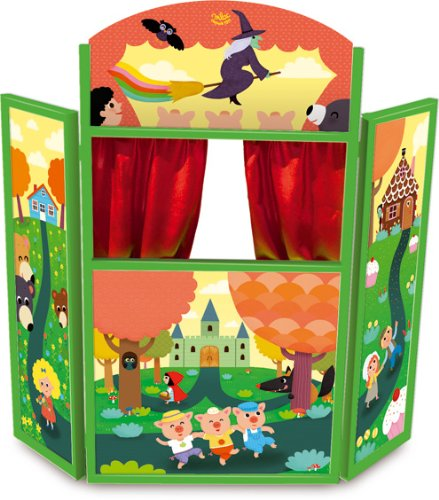 Wooden Puppet Theatre Stage