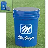 Macgregor Mac Blue Ball Bucket with Padded Lid