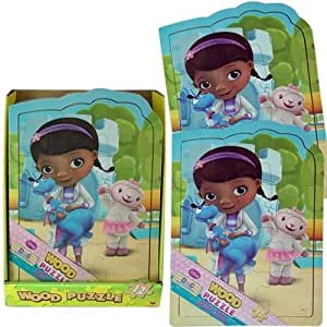 Disney Doc McStuffins Shaped Wood Puzzle Assorted Styles