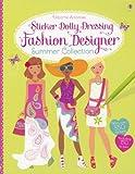Fashion Designer Summer Collection (Sticker Dolly Dressing) Fiona Watt