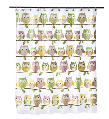 Circo Shower Curtain - Love & Nature Collection - Owls
