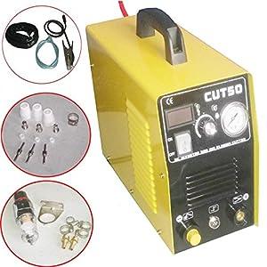 Francyqube® Portable Electric Digital Plasma Cutter 50AMP CUT50 Digital Inverter 110V by Fancyqube