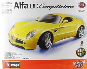 Bburago - 15042 - Véhicule Miniature - Kit Alfa Romeo 8C Compet. - échelle 1/18