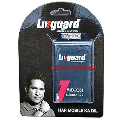 Livguard-1450mAh-Battery-(For-Micromax-Bolt-X351)