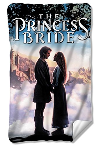 Storybook Love The Princess Bride Fleece Blanket PB126BKT