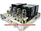 GOWE Amplifier Vaccum Integrated PushPull Stereo Class A Tube Input Power 110V - 240V