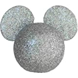 Disney Pencil and Antenna Topper (Glitter Mickey Mouse Silver)