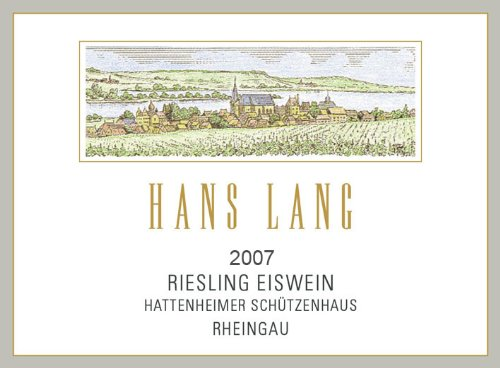 2007 Hans Lang Riesling Ice Wine Wisselbrunnen - Noble Sweet 375 Ml