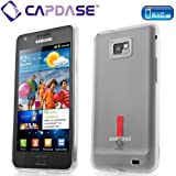 CAPDASE docomo GALAXY S II SC-02C Soft Jacket 2 XPOSE with Screen Guard Crystal Clear, Clear White ソフトジャケット2 XPOSE (クリスタル・クリアー 液晶保護シート 付き) クリアー・ホワイト SJSGI9100-P202