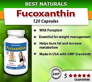 Best Naturals, Fucoxanthin, 100mg 120 capsules
