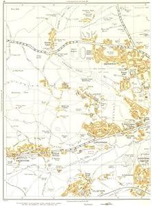BRADFORD:Clayton,Scholemoor,Thornton,Chellowdean,Leaventhorpe,Allerton 1935 map
