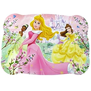 Disney Vinyl Placemats 43cm x 30cm - Princess (Sleeping Beauty, Belle & Tiana)