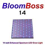 BloomBoss 14 LED Grow Light 14 watt Grow Panel