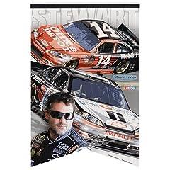 Tony Stewart Premium Felt Banner 17x26 by NASCAR