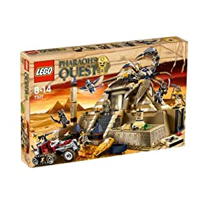 LEGO Pharaohs Quest 7327: Scorpion Pyramid