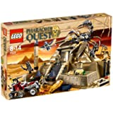 LEGO Pharaohs Quest 7327 - La pirámide de escorpión [versión en inglés]
