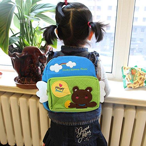 Eonkoo Cartoon Dog Backpack school Bag Kindergarten Shoulder Bags for Baby Toddler Term Begins Gift,Personalized Zoo Handbag Adjustable Strap Kindergarten Satchel Canvas Outdoor Travel Sidekick Bags (Recliners For Travel Trailers compare prices)