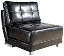 Big Sale Gold Sparrow New York Black Convertible Chair Bed