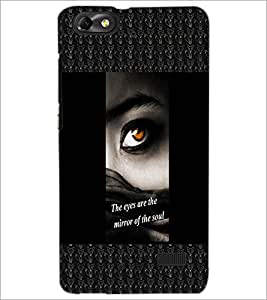 PrintDhaba Quote D-2470 Back Case Cover for HUAWEI HONOR 4C (Multi-Coloured)