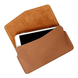 DooDa PU Leather Case Cover For Lava iris 355