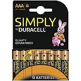 Duracell SIMPLY Batterie AAA (MN2400/LR03) 8er