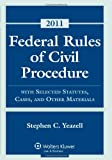 9780735508750: Federal Rules Civil Procedure, 2011 Statutory Supplement