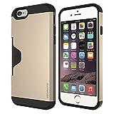 PHONE FOAM Golf Fit カード収納機能付きケース for iPhone 6 シャンパンゴールド