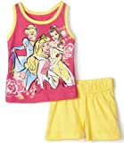 Disney Baby-Girls Infant Princess Pullover And Short Set