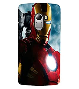 ColourCraft Warrior Design Back Case Cover for LENOVO VIBE K4 NOTE