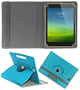 DressMyPhone Universal Tablet Synthetic Leather Flip Cover For Any 7 inch Tablet (Greenish Blue)